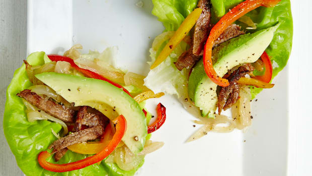Lettuce Fajita Wraps