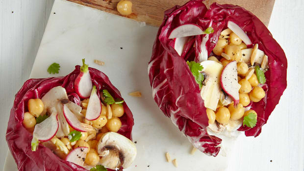 Truffle Stuffed Vegan Lettuce Bowls