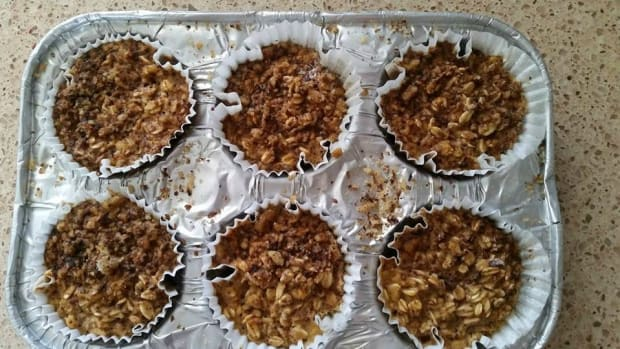 oatmeal protein cupcakes muffins
