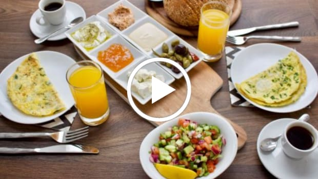 israeli breakfast for 2 video