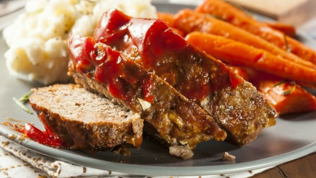 Barbecued Meatloaf