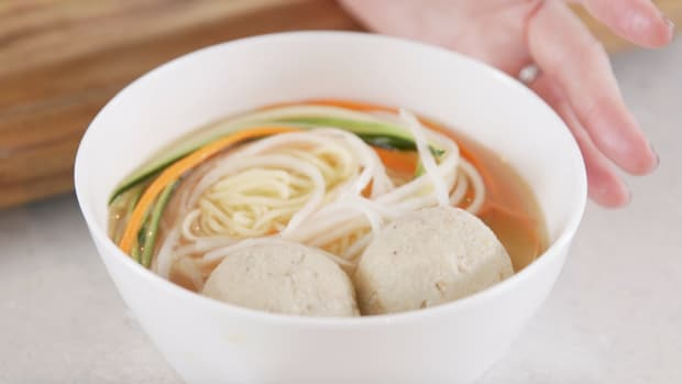 Best Ever Matzo Ball Soup