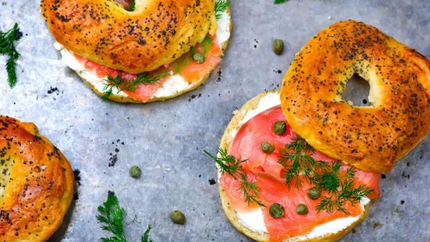 Bagels For Yom Kippur Break Fast