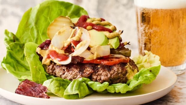 jamie's favorite low carb burger