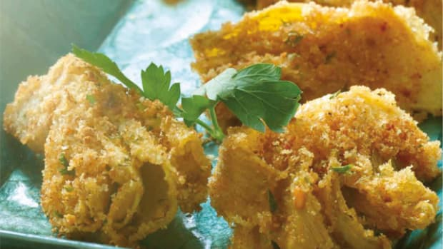crispty artichoke hearts