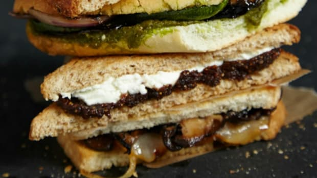 Wild Mushroom Grilled Cheese