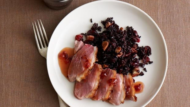 pan seared duck breast