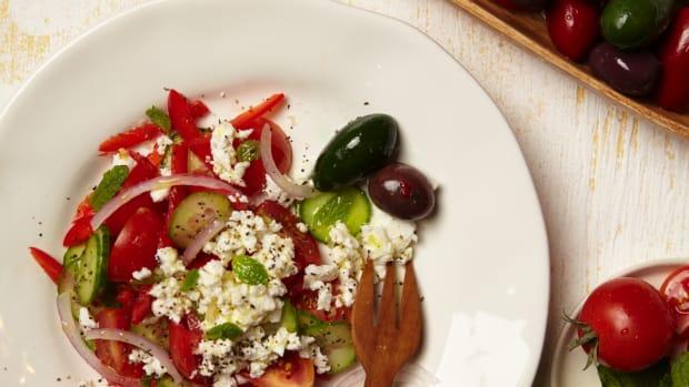 Beefed Up Israeli Salad Pg. 54