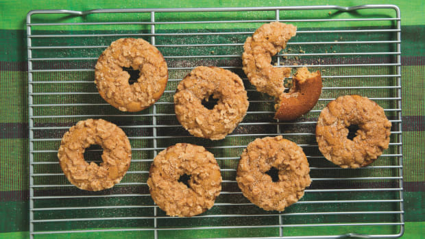 Honey Cake Doughnuts