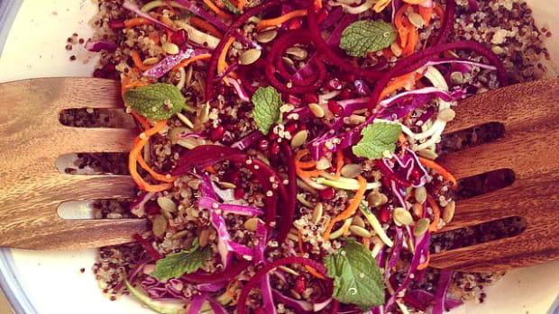Simanim Quinoa Salad