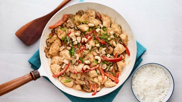 Stir Fry Peanut Butter Chicken