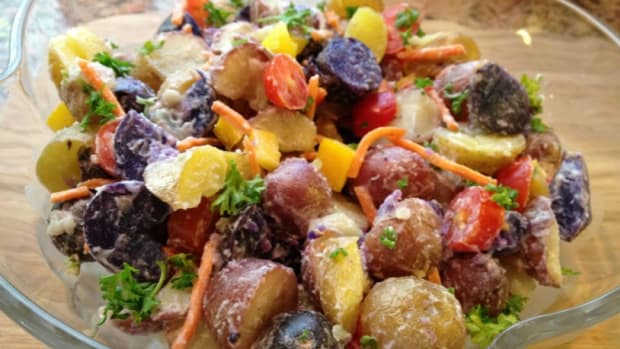 Colorful Potato Salad