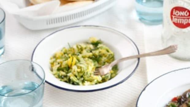 zucchini dill salad