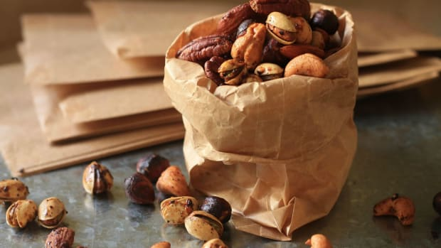 Chai Masala Roasted Nuts wide