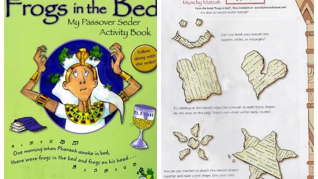Seder Activity Book for Kids