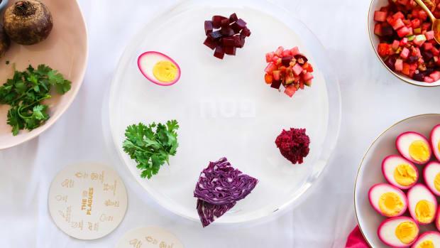 Seder Plate - modern take