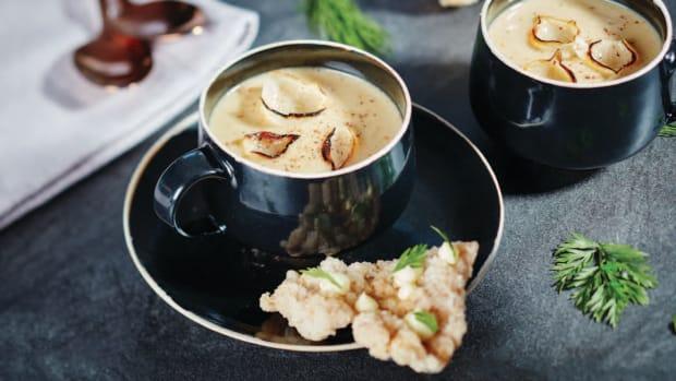 Creamy Chestnut Soup