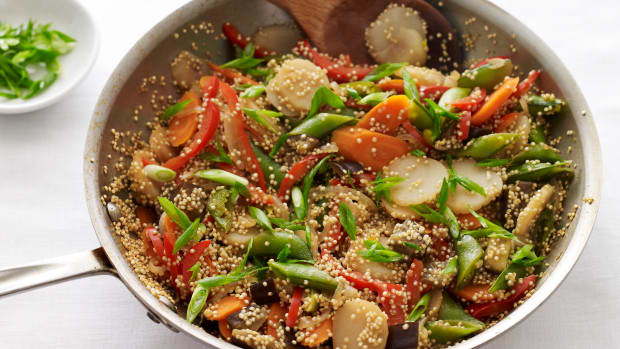 One Skillet Vegetable Side
