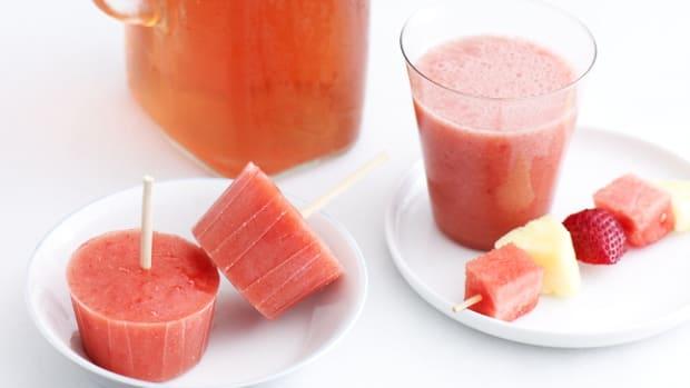 Iced Tea Fruit Coolers