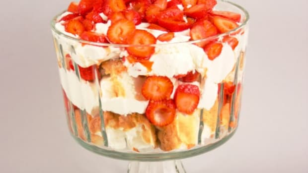 strawberry Angel Trifle