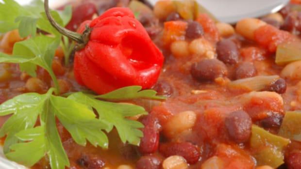 Heart Healthy Vegetarian Chili – Pressure Cooker