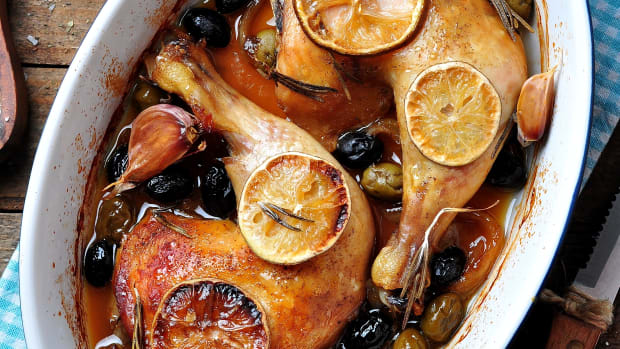 Chicken with Olives and prunes
