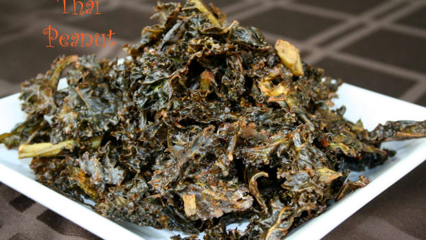 Thai Peanut Kale Chips