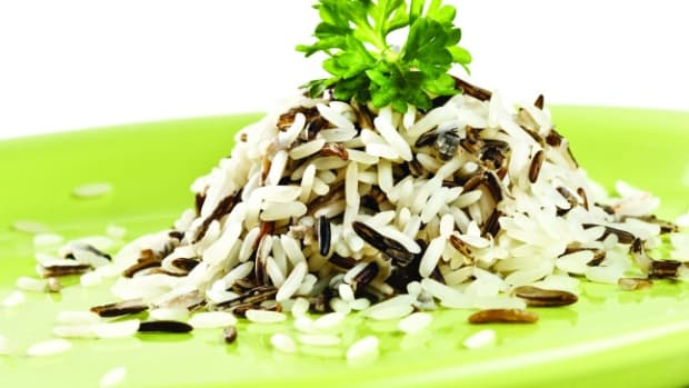 Three-onion Wild rice