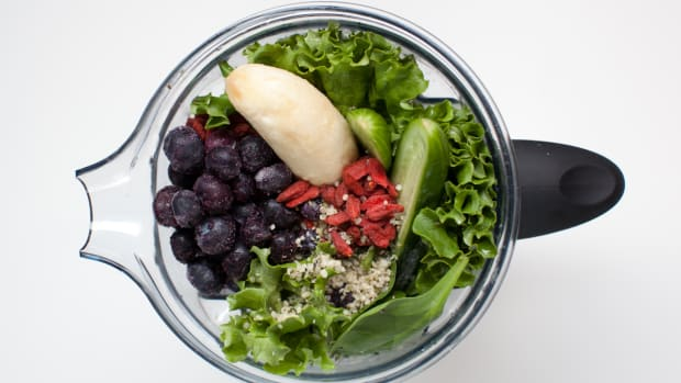 Blue-Green Power Smoothie