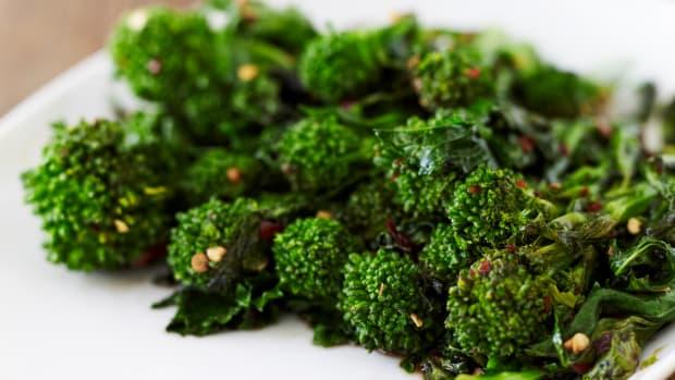 braised broccoli rabe