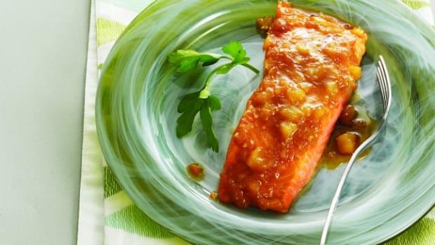 Pineapple_Maple_Glazed salmon