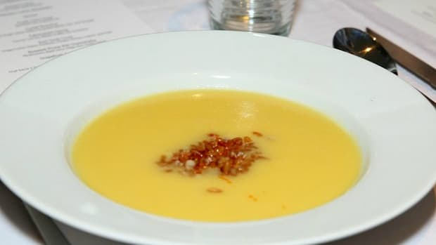 kitchen surfing corn soup