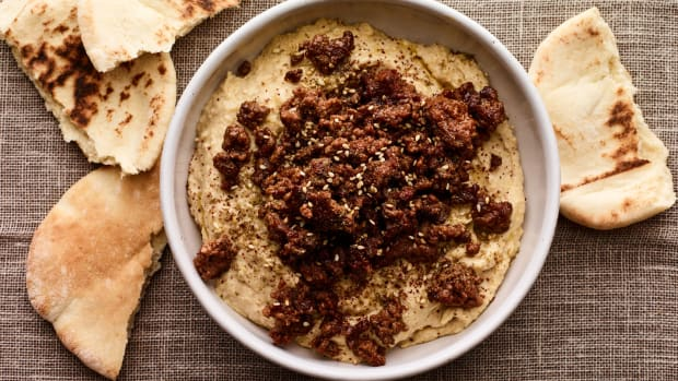 SPICY LAMB CRUMBLES