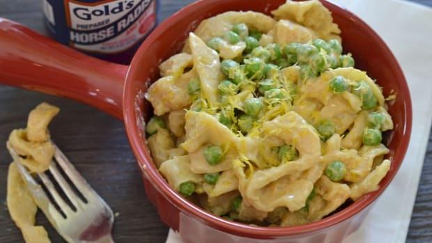Horseradish Pasta