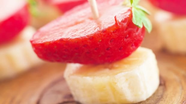 Strawberry-Banana Yogurt Ices