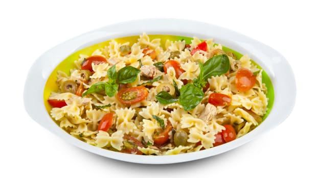 Whitefish Pasta salad