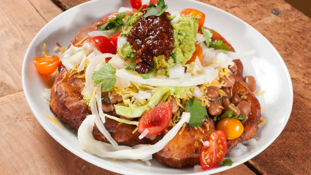 indian fry bread taco