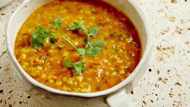 Moroccan Steel Cut Oat Soup