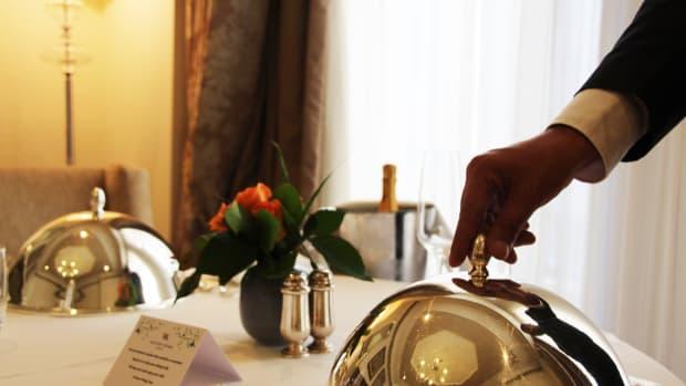 Room Service In Room at Waldorf Astoria Jerusalem