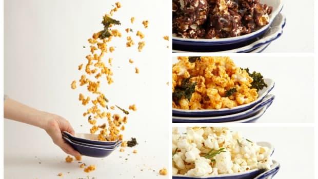 popcorn collage