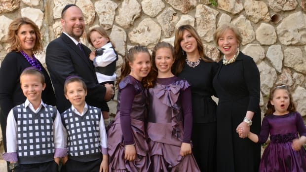 Jamie Geller and Family Bat Mitzvah