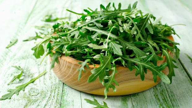 Arugula Salad with Lemon Honey Vinaigrette