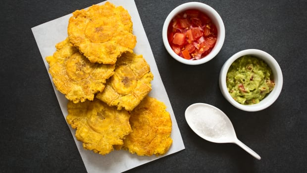 Oven Fried Tostones Recipe