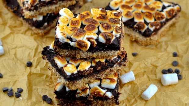 gluten free s'mores bars