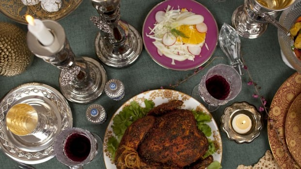 Passover Feast with Moroccan Flavors