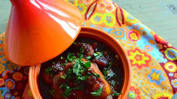 Rosh Hashanah chicken with orange sauce recipe