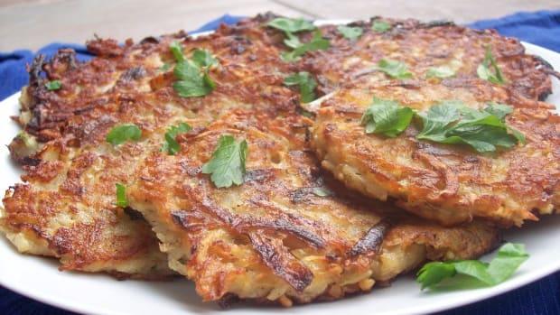 Perfect Potato Latkes
