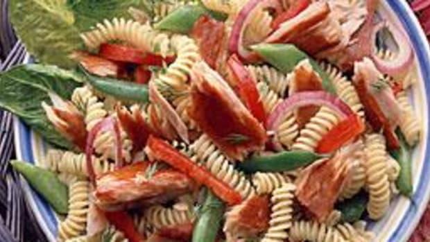 Light Pasta Salad with Smoked Albacore