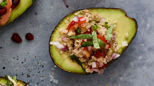 Quinoa Stuffed Avocado
