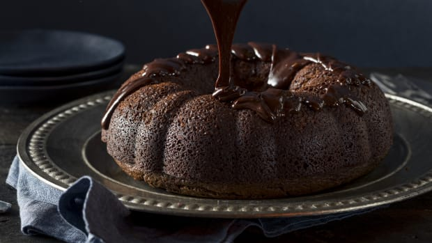 Pumpkin Chocolate Bundt Cake